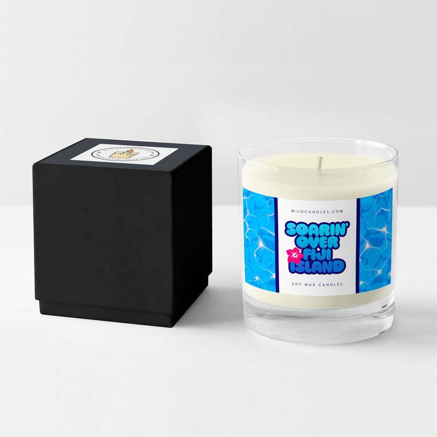 Soarin Over Fiji Island Candle - Handmade With 100% Natural Soy Wax