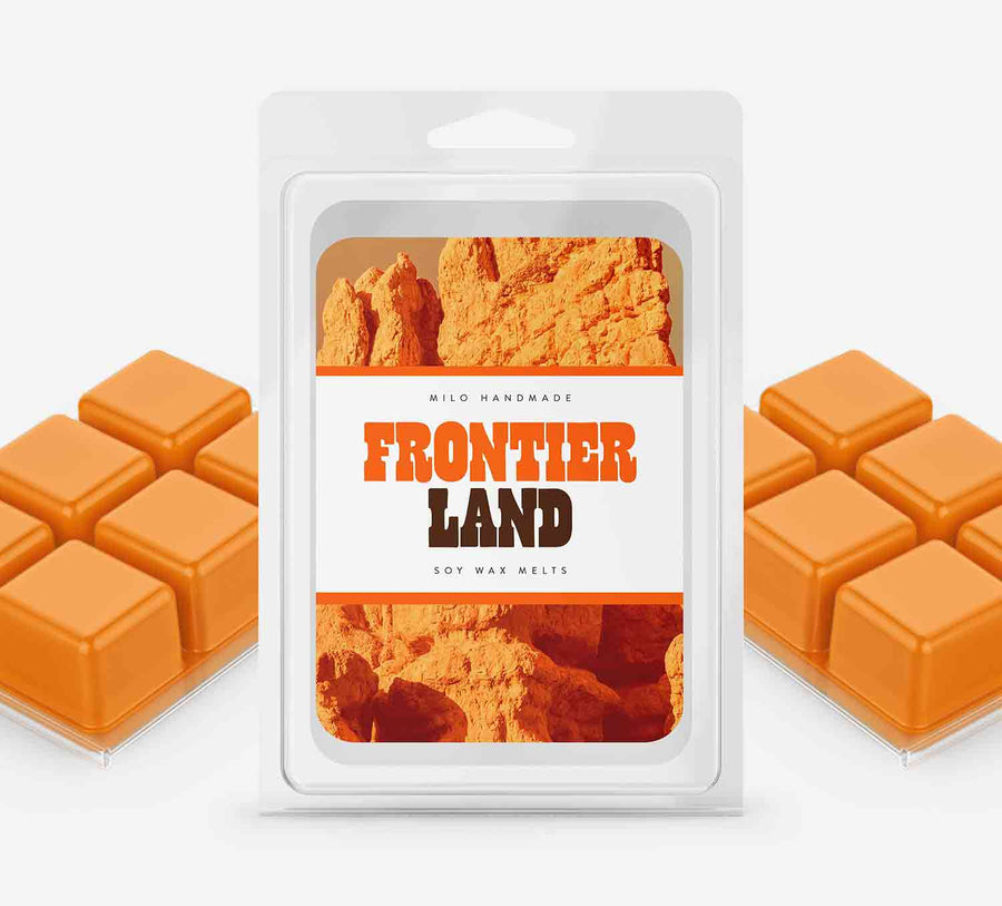 Frontier Land Wax Melts - Hand Poured With 100% Natural Soy Wax