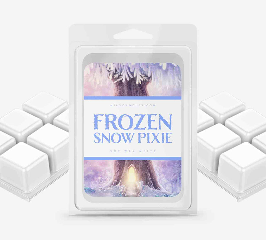 Frozen Snow Pixie Wax Melts - Hand Poured With 100% Natural Soy Wax