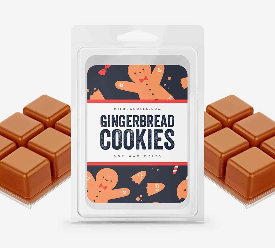 Gingerbread Cookies Wax Melts - Hand Poured With 100% Natural Soy Wax