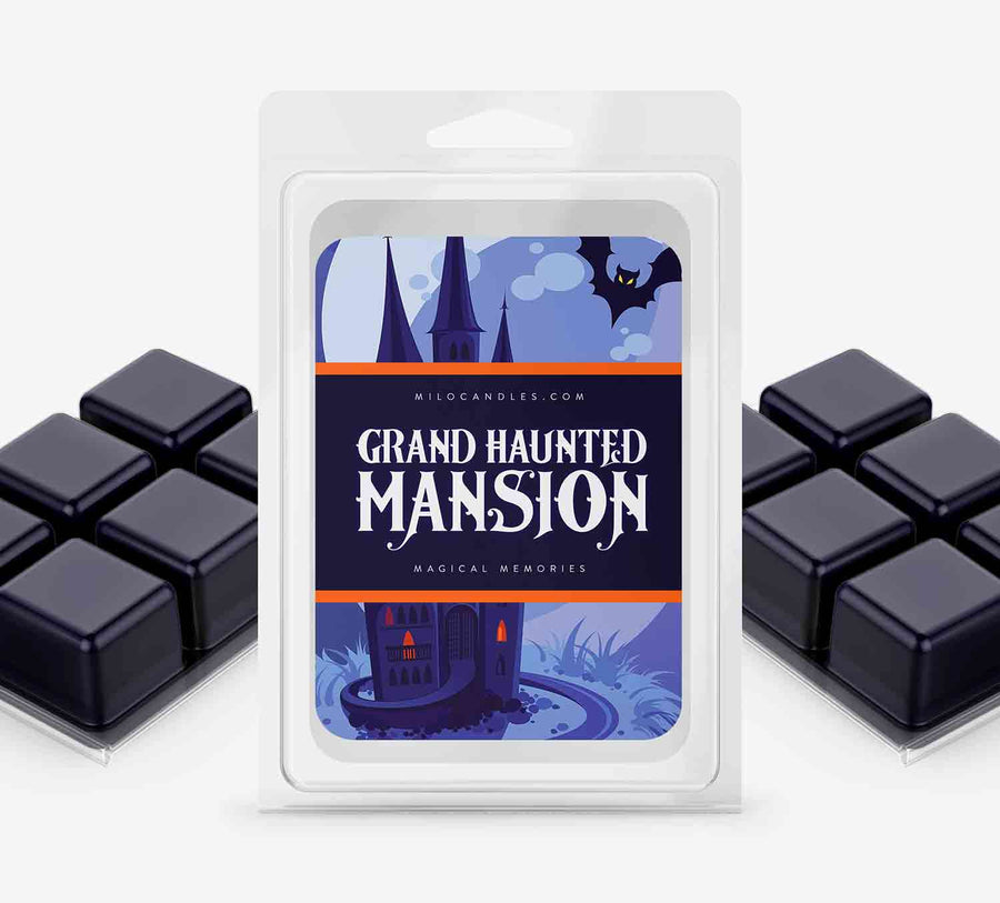 Grand Haunted Mansion Wax Melts - Hand Poured With 100% Natural Soy Wax