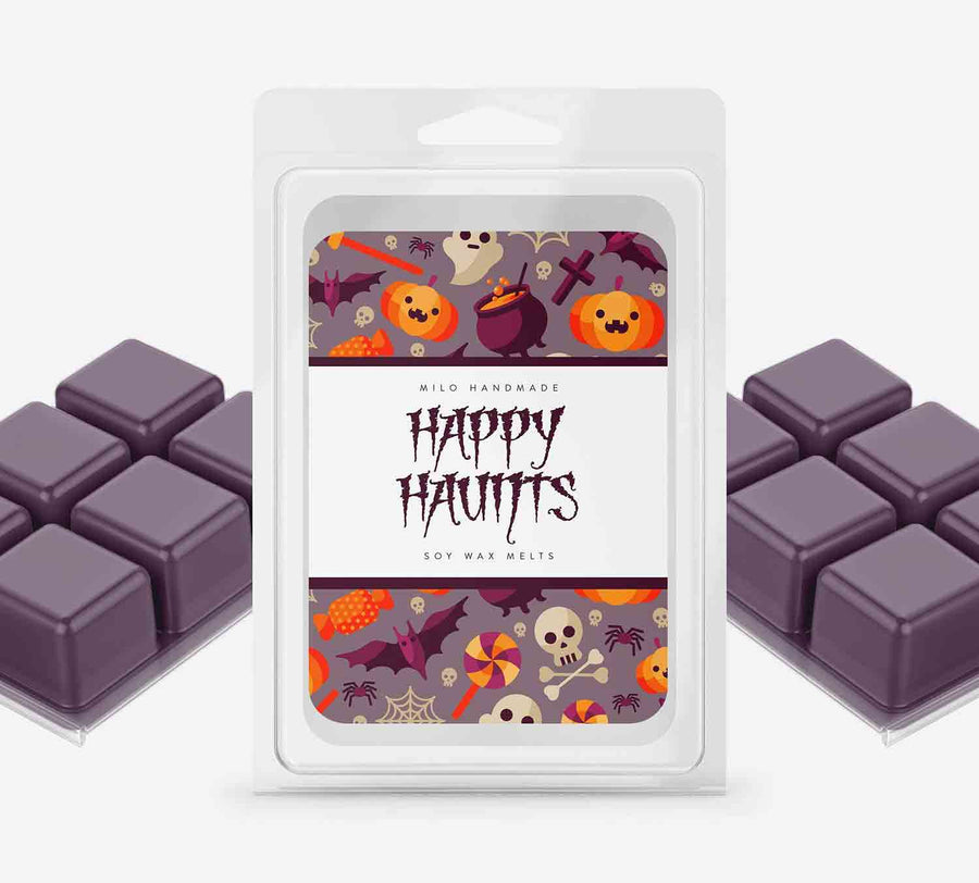 Happy Haunts Wax Melts - Hand Poured With 100% Natural Soy Wax