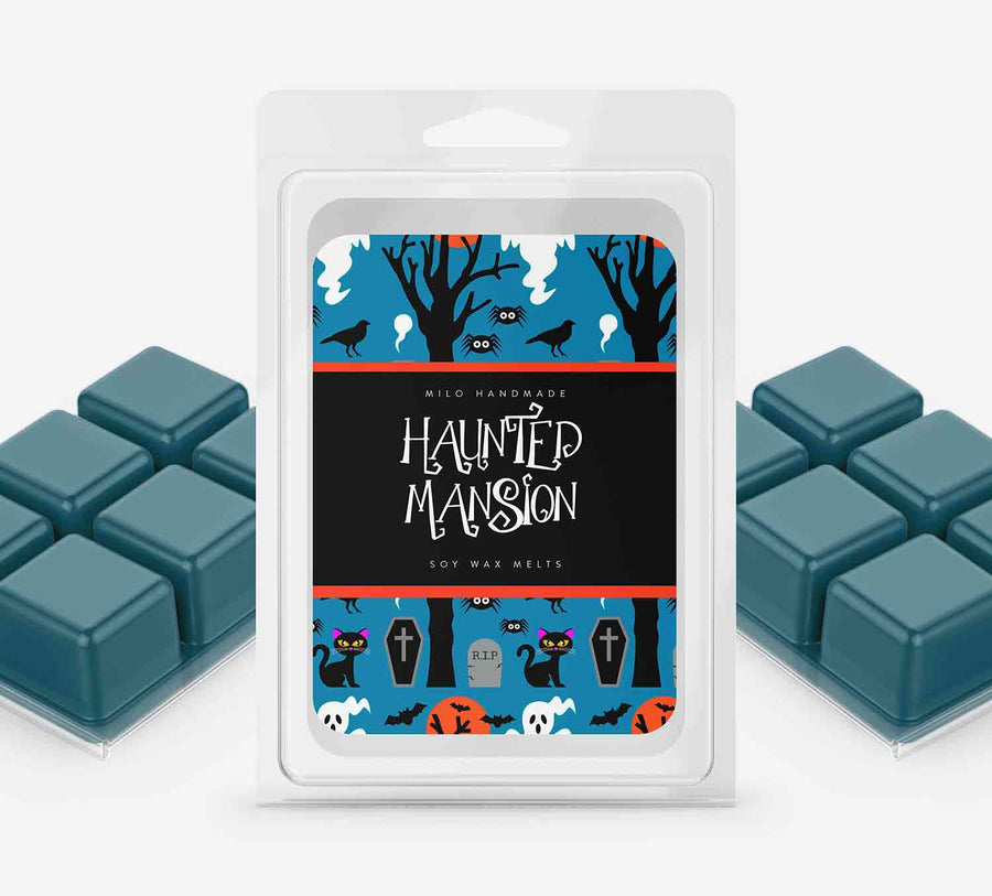 Haunted Mansion Wax Melts - Hand Poured With 100% Natural Soy Wax