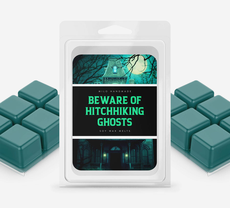 Disney Inspired Beware of Hitchhiking Ghosts Wax Melts