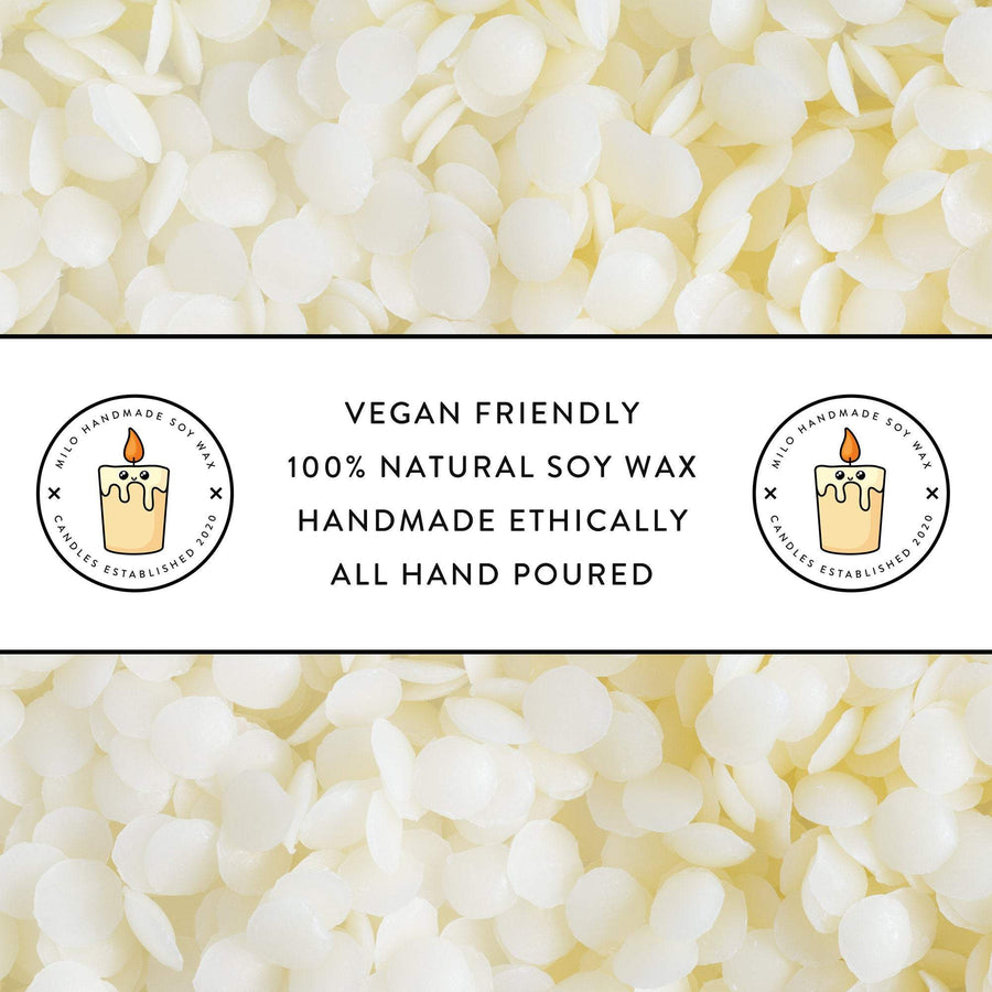 Vegan Friendly Hand Poured Natural Soy Wax