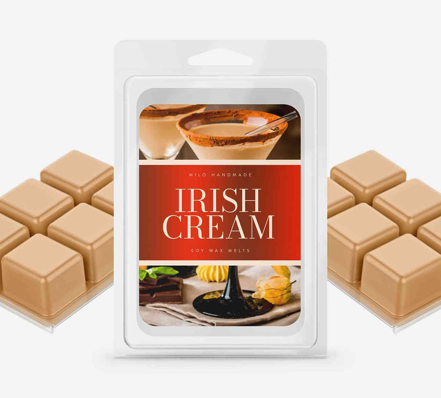 Irish Cream Wax Melts - Hand Poured With 100% Natural Soy Wax