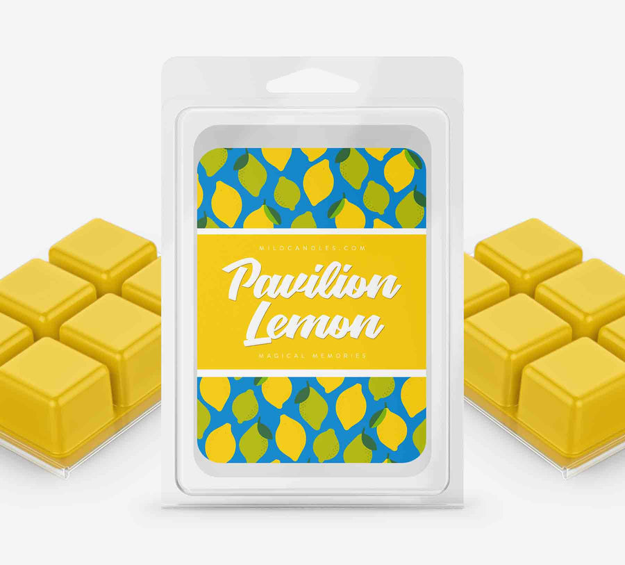 Pavilion Lemon Wax Melts - Hand Poured With 100% Natural Soy Wax
