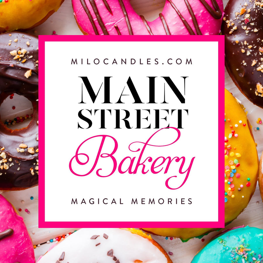 Main Street Bakery Candle - Handmade With 100% Natural Soy Wax