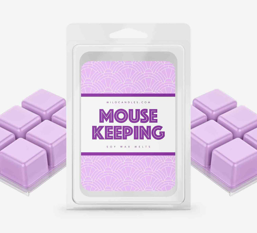 Mouse Keeping Wax Melts - Hand Poured With 100% Natural Soy Wax