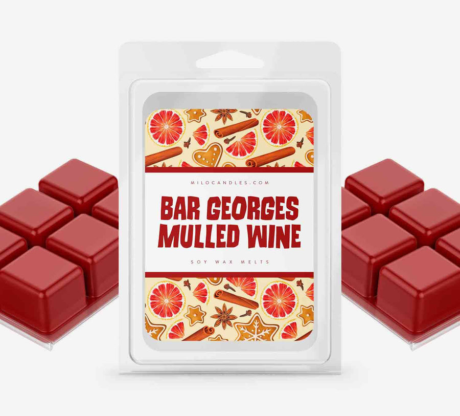Mulled Wine Wax Melts - Hand Poured With 100% Natural Soy Wax