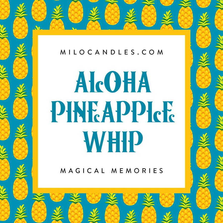 Aloha Pineapple Whip Candle