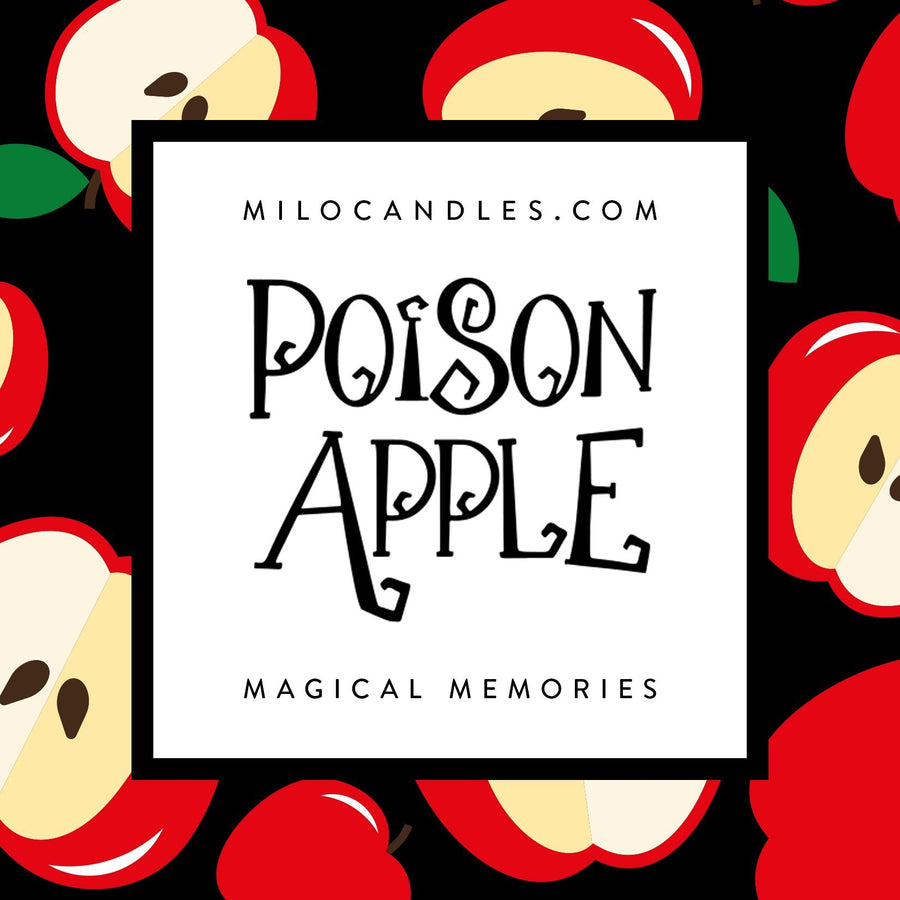 Poison Apple Candle - Handmade With 100% Natural Soy Wax