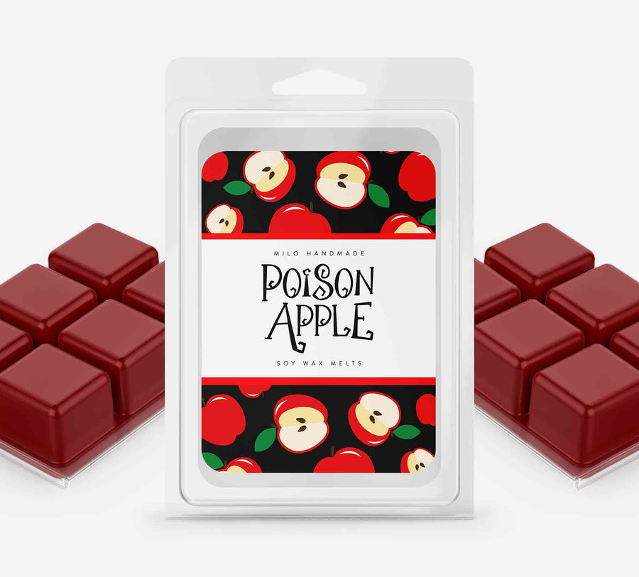 Poison Apple Wax Melts - Hand Poured With 100% Natural Soy Wax