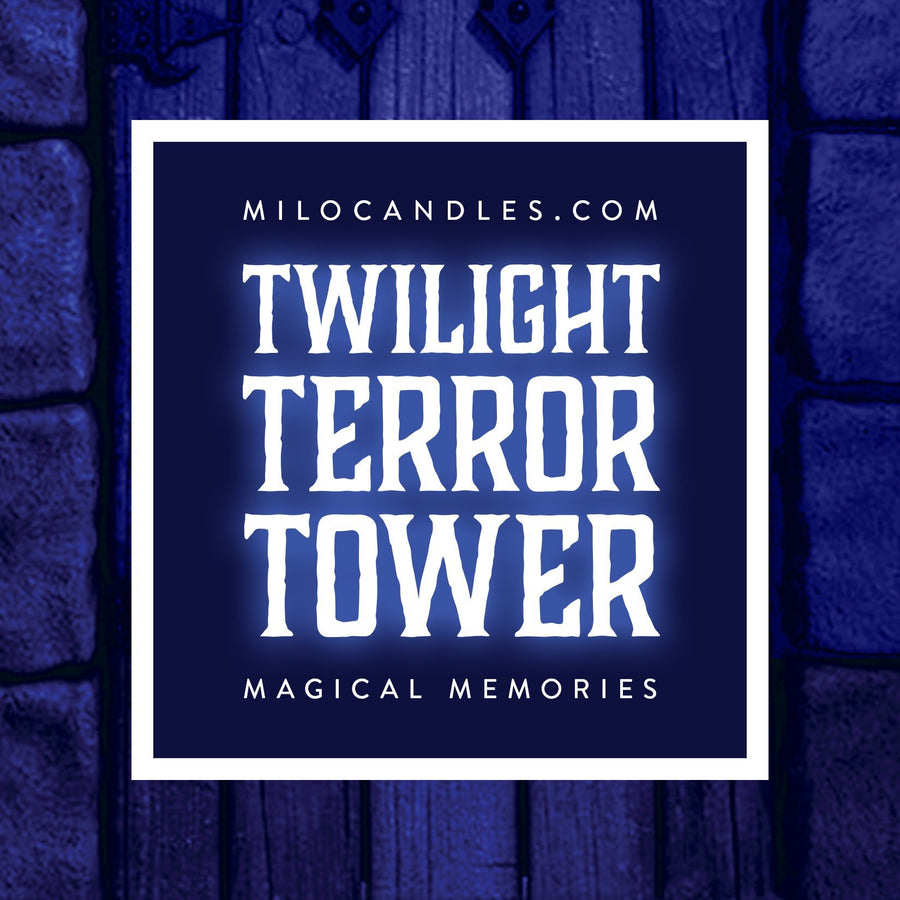 Twilight Terror Tower Candle - Handmade With 100% Natural Soy Wax