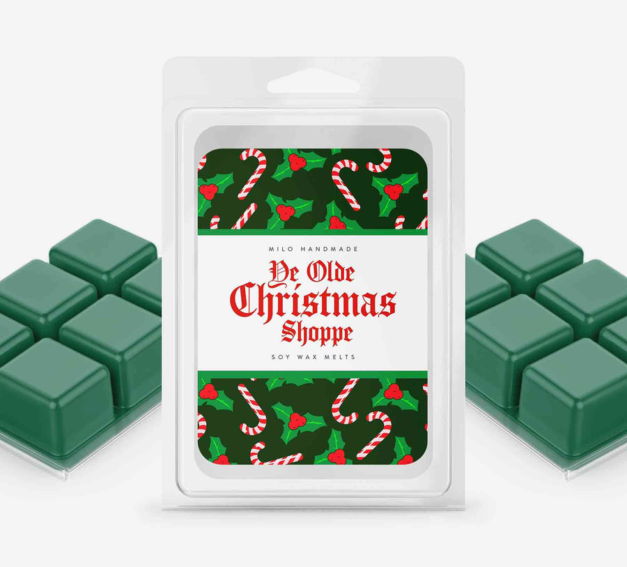 Ye Olde Christmas Shoppe Wax Melts - Hand Poured With 100% Natural Soy Wax