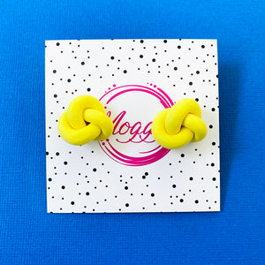 Twisted Studs Yellow