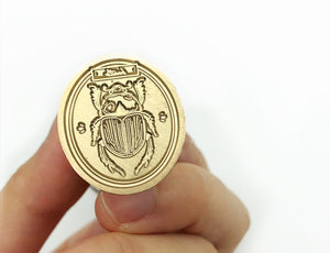 Scarab Beetle Wax Seal