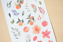 Load image into Gallery viewer, Summer Fruit and Flower Transfer Sticker - MU