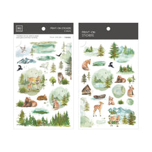 Load image into Gallery viewer, Woodland Friends Transfer Sticker - MU