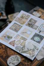 Load image into Gallery viewer, Collection of Museum Stamp Stickers - misterrobinson