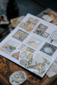 Collection of Museum Stamp Stickers - misterrobinson