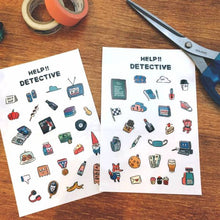 Load image into Gallery viewer, Detective Journal Transfer Sticker - Dimanche