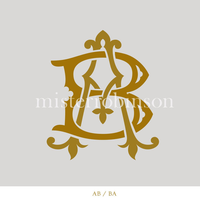 Digital Contemporary Monogram - misterrobinson