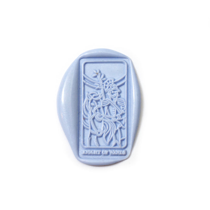 Knight of Wands Tarot Wax Seal