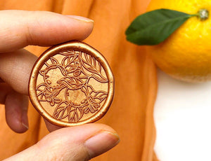 Orange Tree Wax Seal - misterrobinson