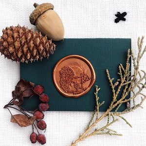 Squirrel Wax Seal - misterrobinson