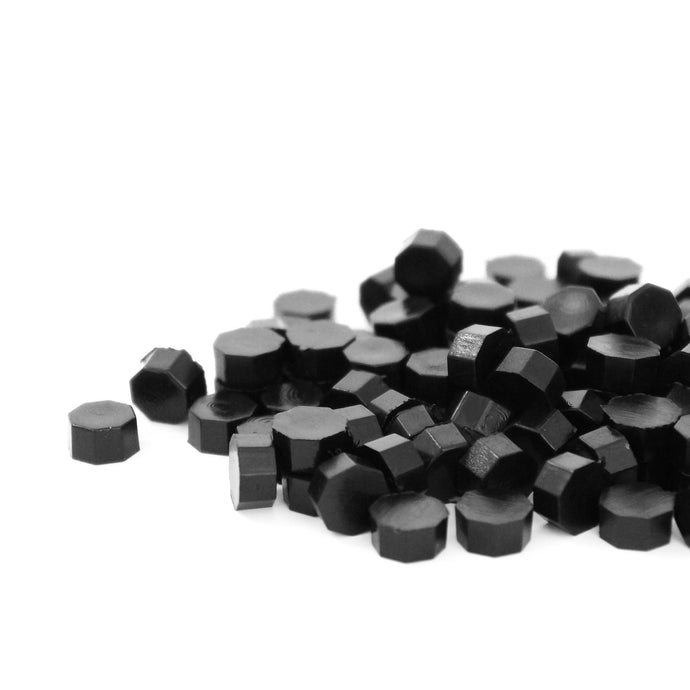 Truffle Black Hexagon Wax Beads - Quick Melt Formula