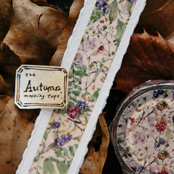 Autumn Washi Tape - OURS