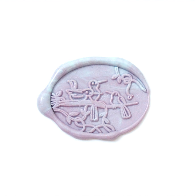 Baroque Garden Wax Seal