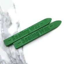 Load image into Gallery viewer, Emerald Green wick wax stick - misterrobinson