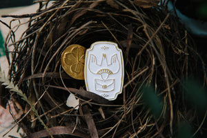 Incoming Mail Bird Enamel Pin - OURS - misterrobinson