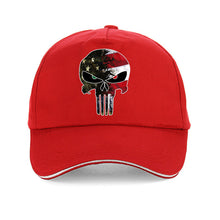 Load image into Gallery viewer, American Punisher Skull Hat