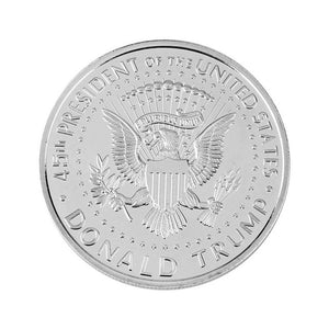 American Statue of Liberty Silver Plated Commemorative Coin