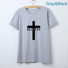 Load image into Gallery viewer, I Believe Jesus Shirt