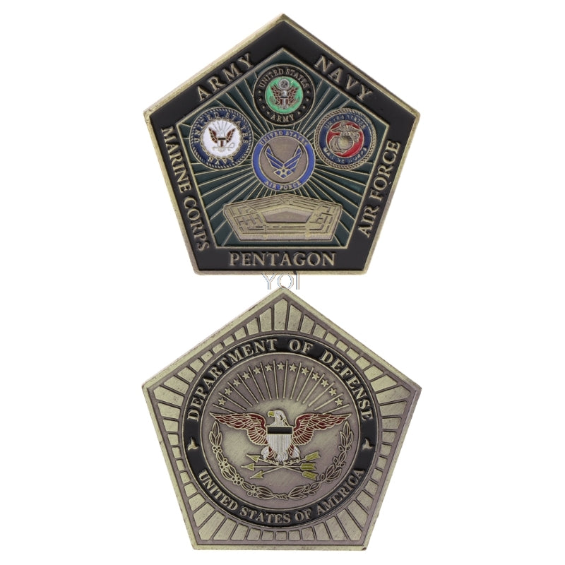 Pentagon Challenge Coin - 2020 Edition