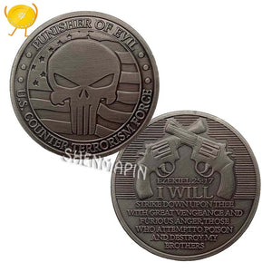Punisher Counter Terrorism Coin