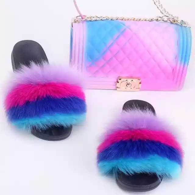 Fur Slide set