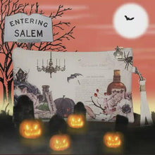 Load and play video in Gallery viewer, Salem Witch Wristlet/Pouch - special edition!