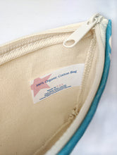 Load image into Gallery viewer, The Awesome 80s Zipper Pouch - 100% Organic Cotton! - SPRING OFFER!