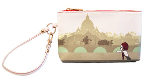 Beautiful View - Wristlet with credit card slots