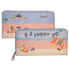 Load image into Gallery viewer, Is It Summer Yet Large Wallet