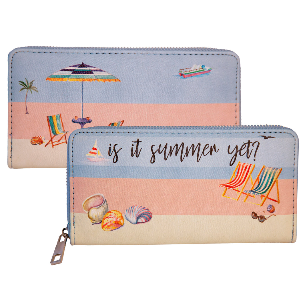 Is It Summer Yet Large Wallet