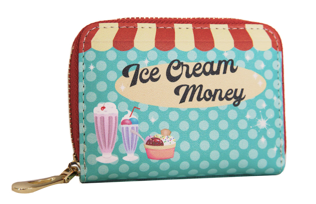 Ice Cream Money Credit Card Holder