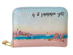 Is It Summer Yet Credit Card Wallet