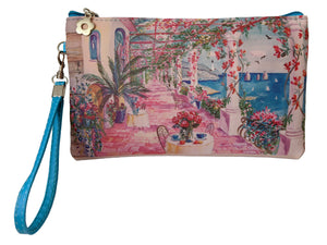 Ocean Terrace wristlet/pouch - 50% off Labor Day discount