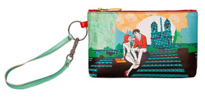 Spanish Steps - Wristlet with credit card slots